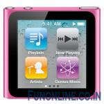 Apple iPod nano Rocking New Design